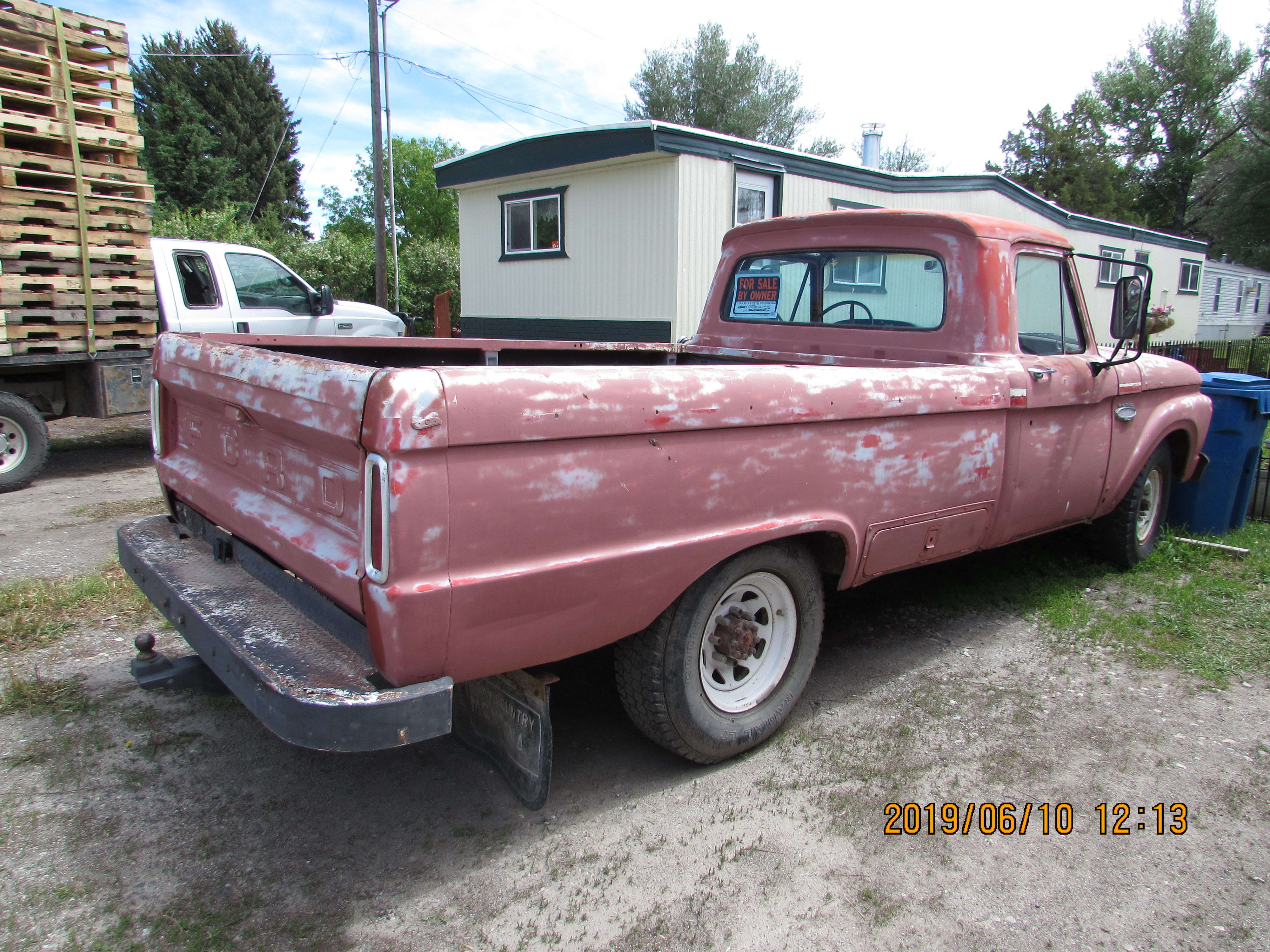 1966 Ford 2wd Heavy Duty 3/4 ton Camper Special image 1