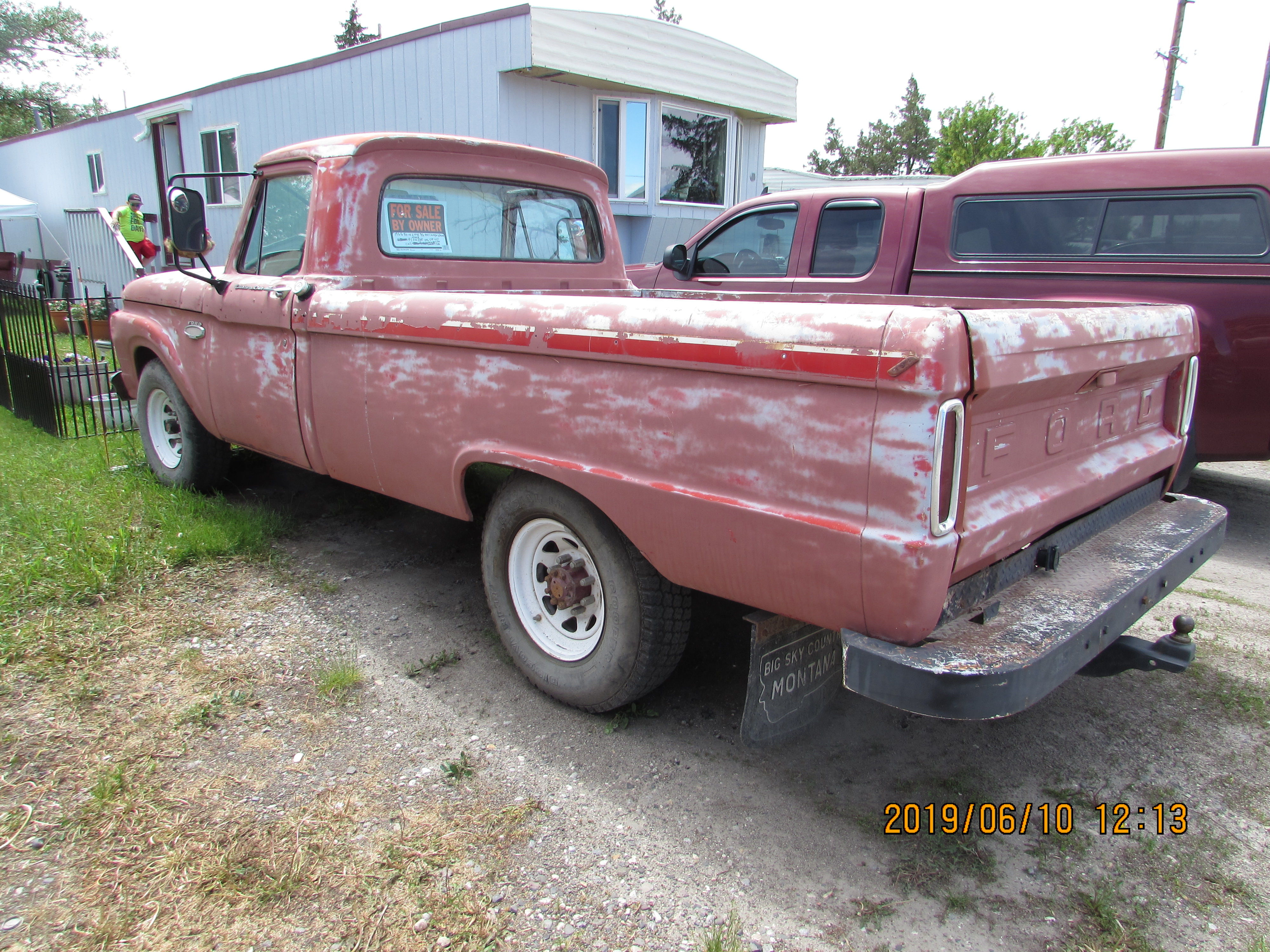 1966 Ford 2wd Heavy Duty 3/4 ton Camper Special image 2