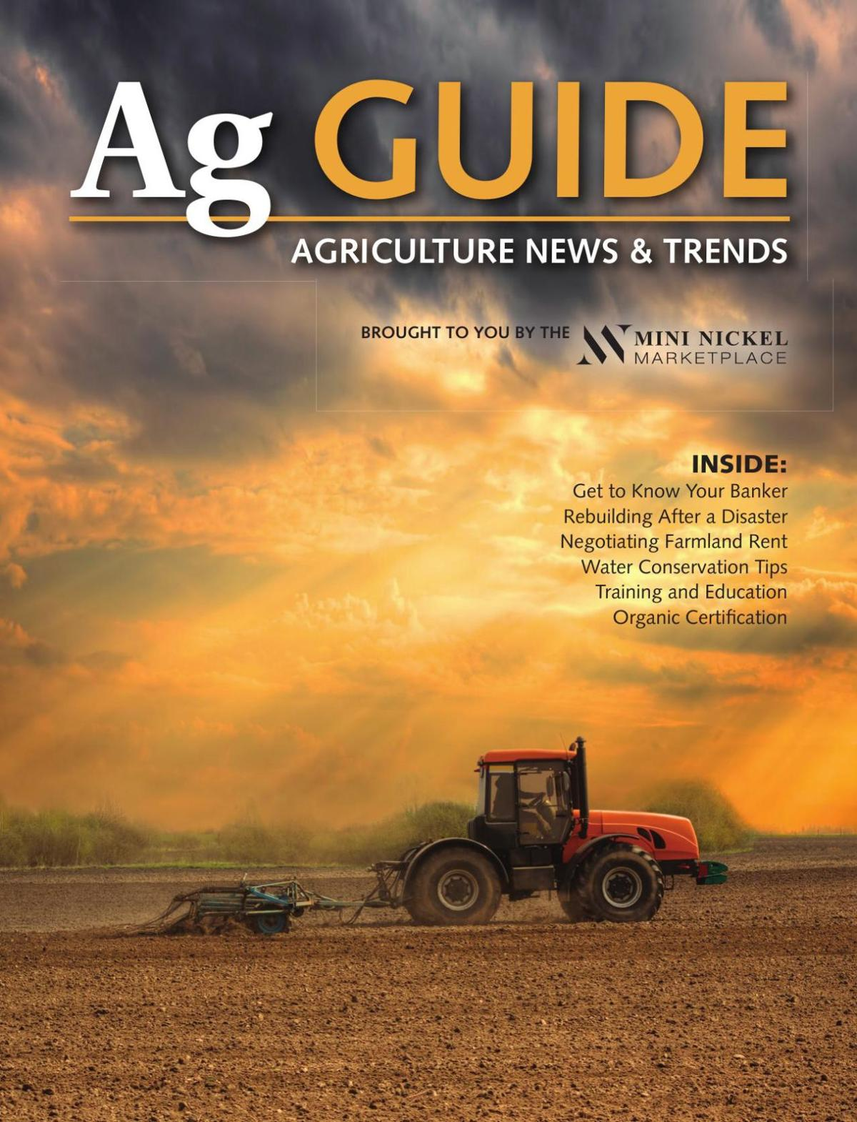 Ag Guide - Agriculture News & Trends - March 15, 2018