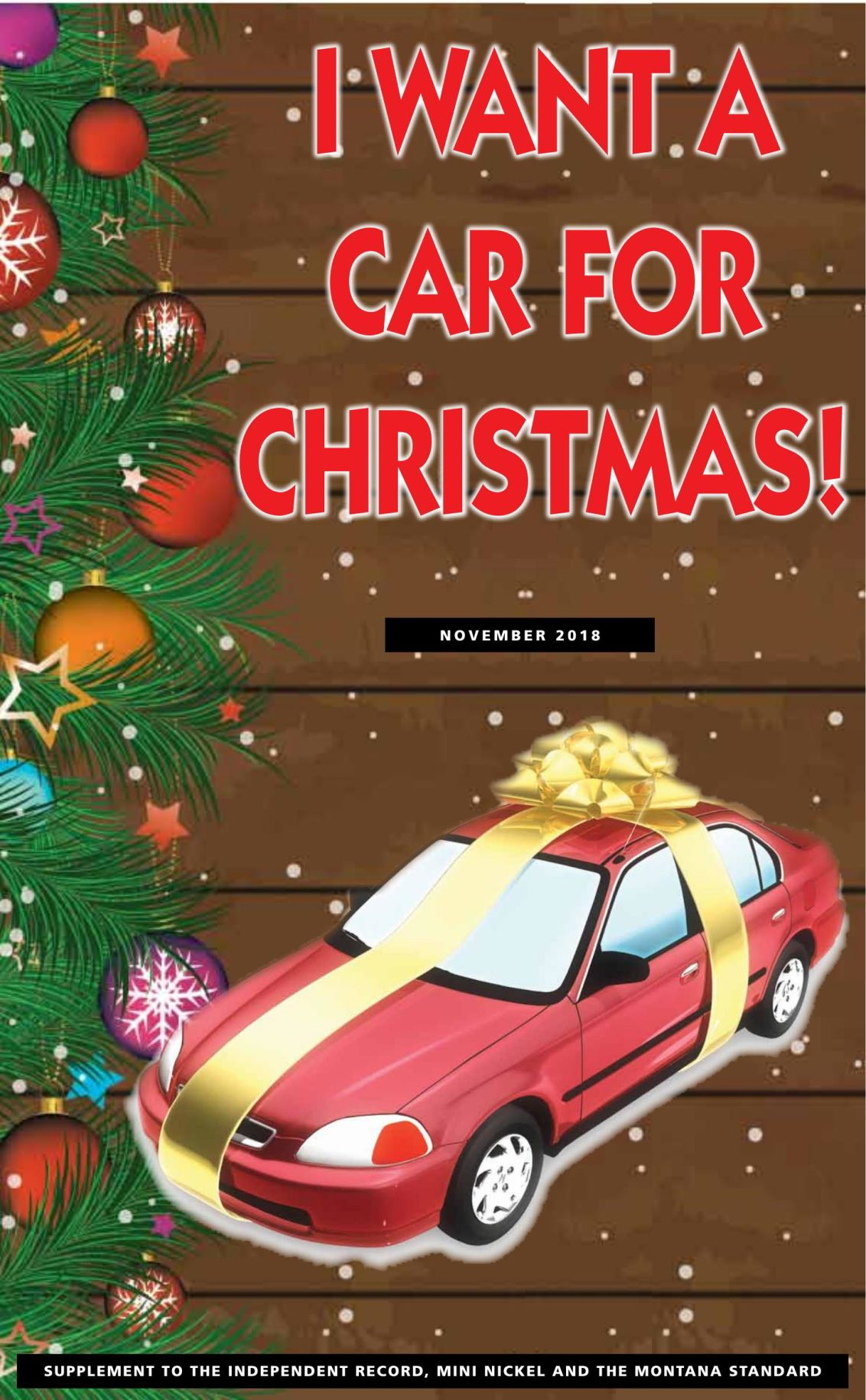I want a car for Christmas - Regional Auto Guide