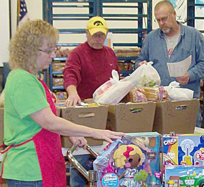 The Salvation Army distribution process