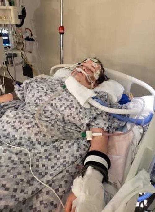 Harvey goes through long health ordeal