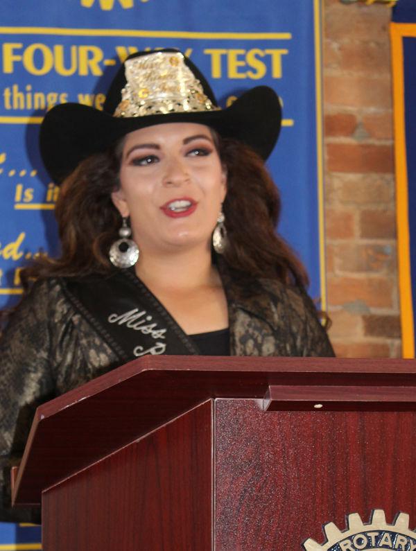 Miss Rodeo Iowa Brittany Gunn