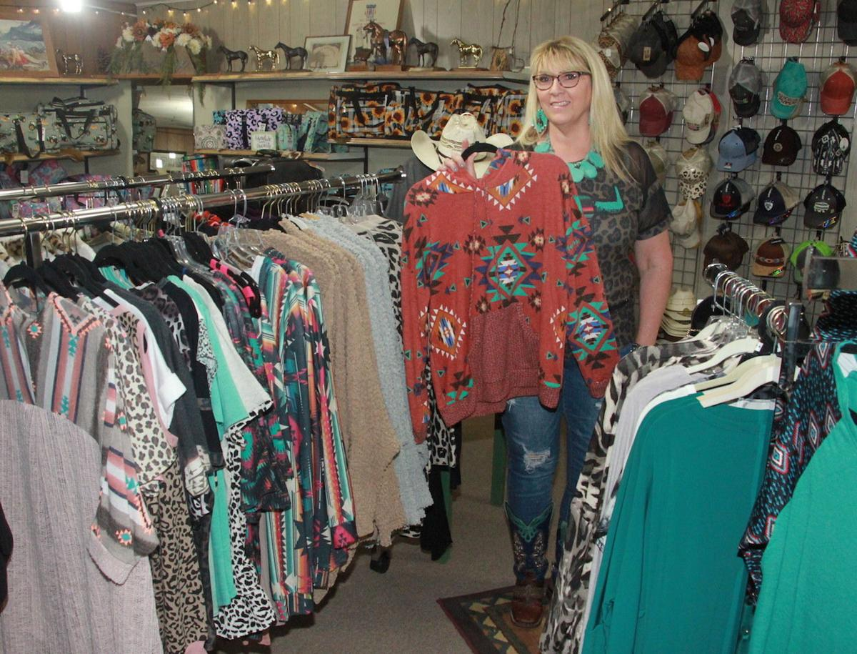 Large collection of clothes, accessories