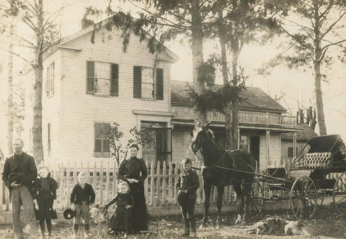 Eli Shirey family homestead