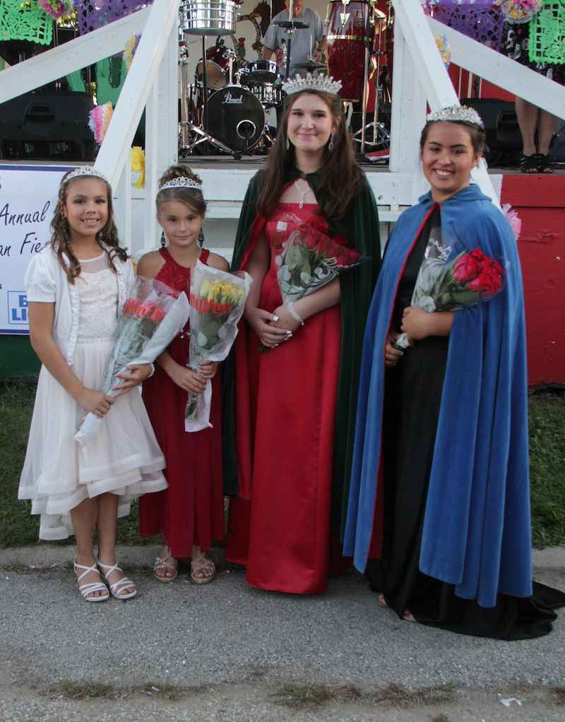 Queens and Princesses of the Fiesta
