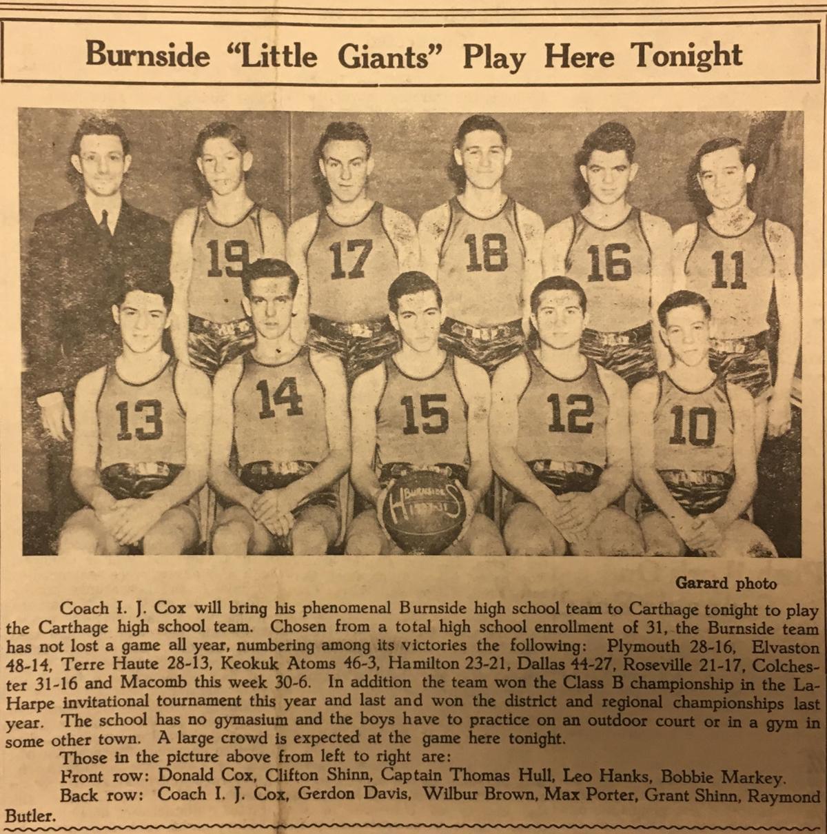 Burnside Little Giants