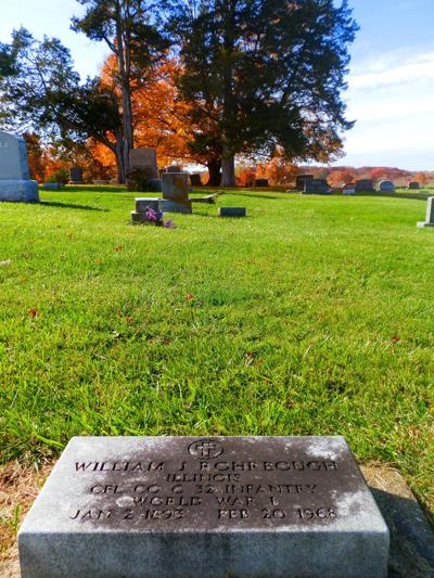 William Rohrbough WW1 headstone
