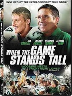 Game Stands Tall DVD cover