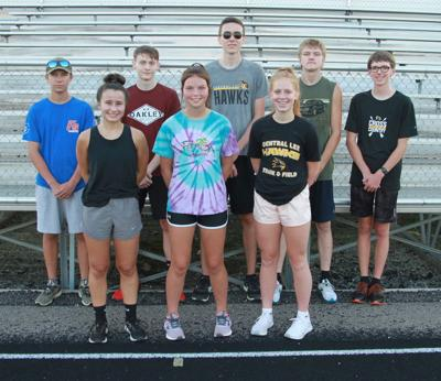 Central Lee cross country team