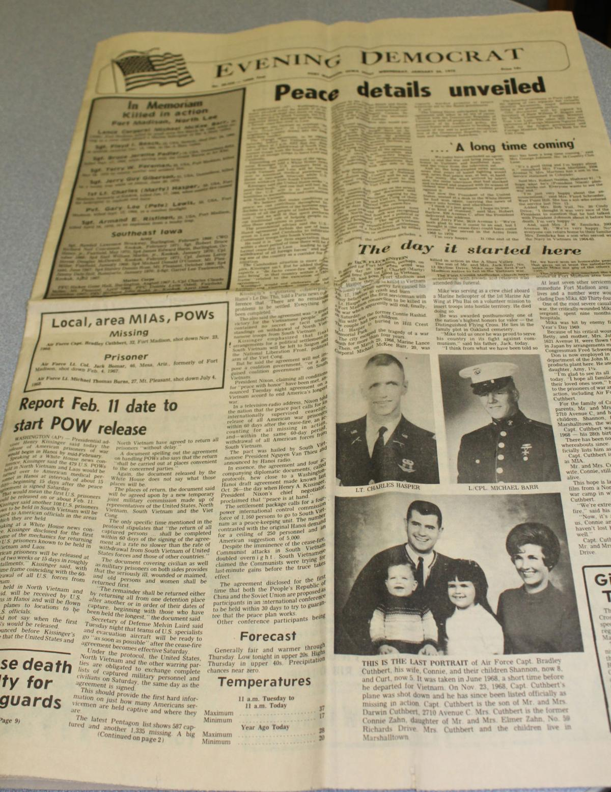 Newspaper From 1973 Serves As A Reminder News