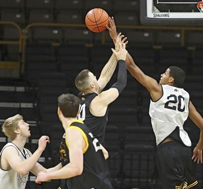 Iowa Men's Basketball Scrimmage