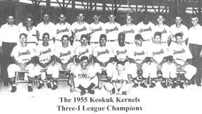 Remembering the Keokuk Kernels 1955 team considered one of best minor league teams of all-time