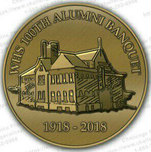 100th anniversary coin