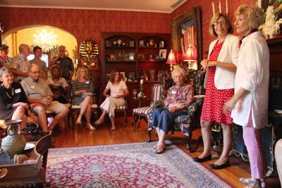 Rita Hart at the LaFrenz home