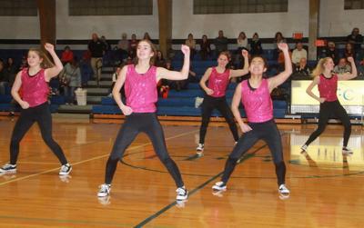 HTC dancers flex their muscles