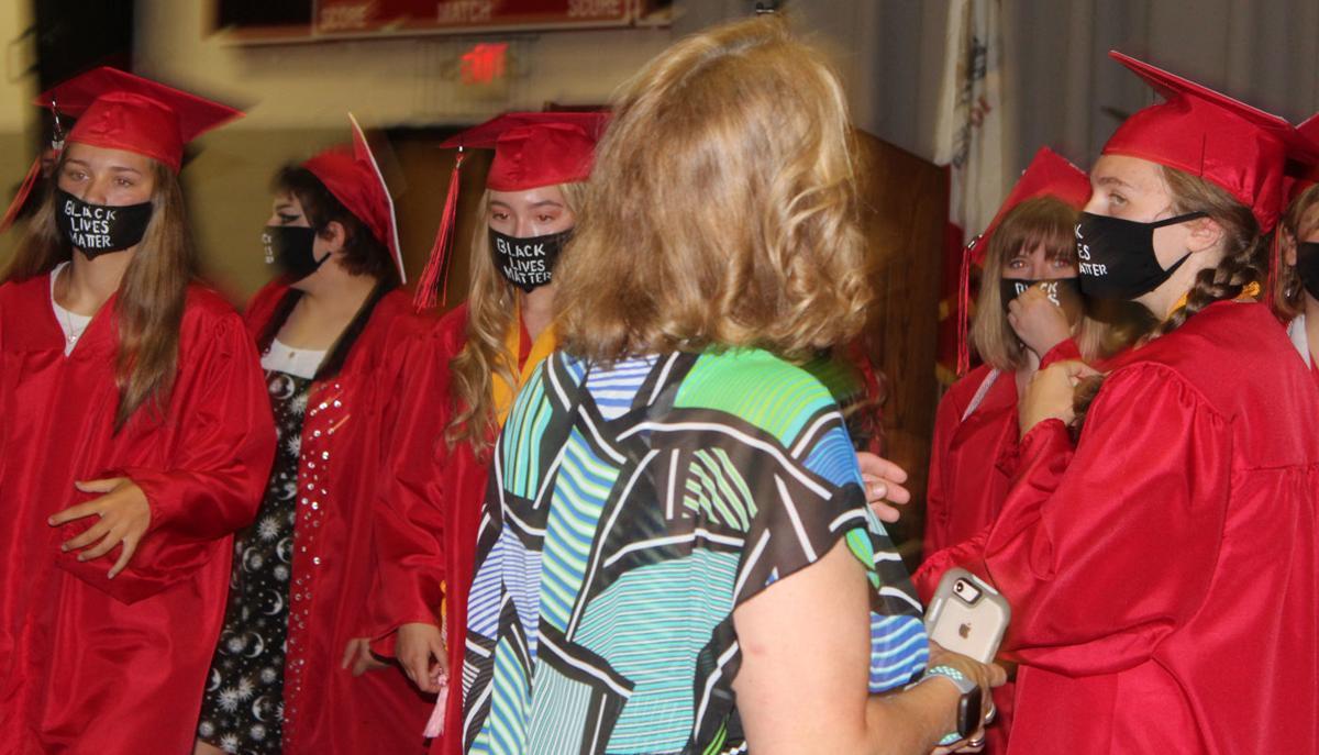 FMHS Grads with Masks