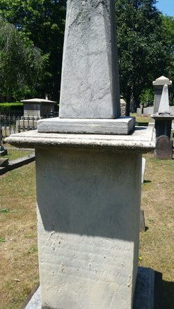 Atwater grave marker