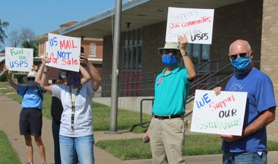 Post office rally
