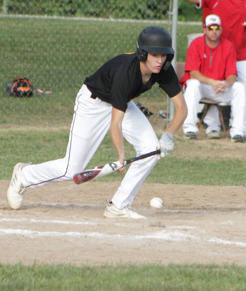 Weirather tries to bunt
