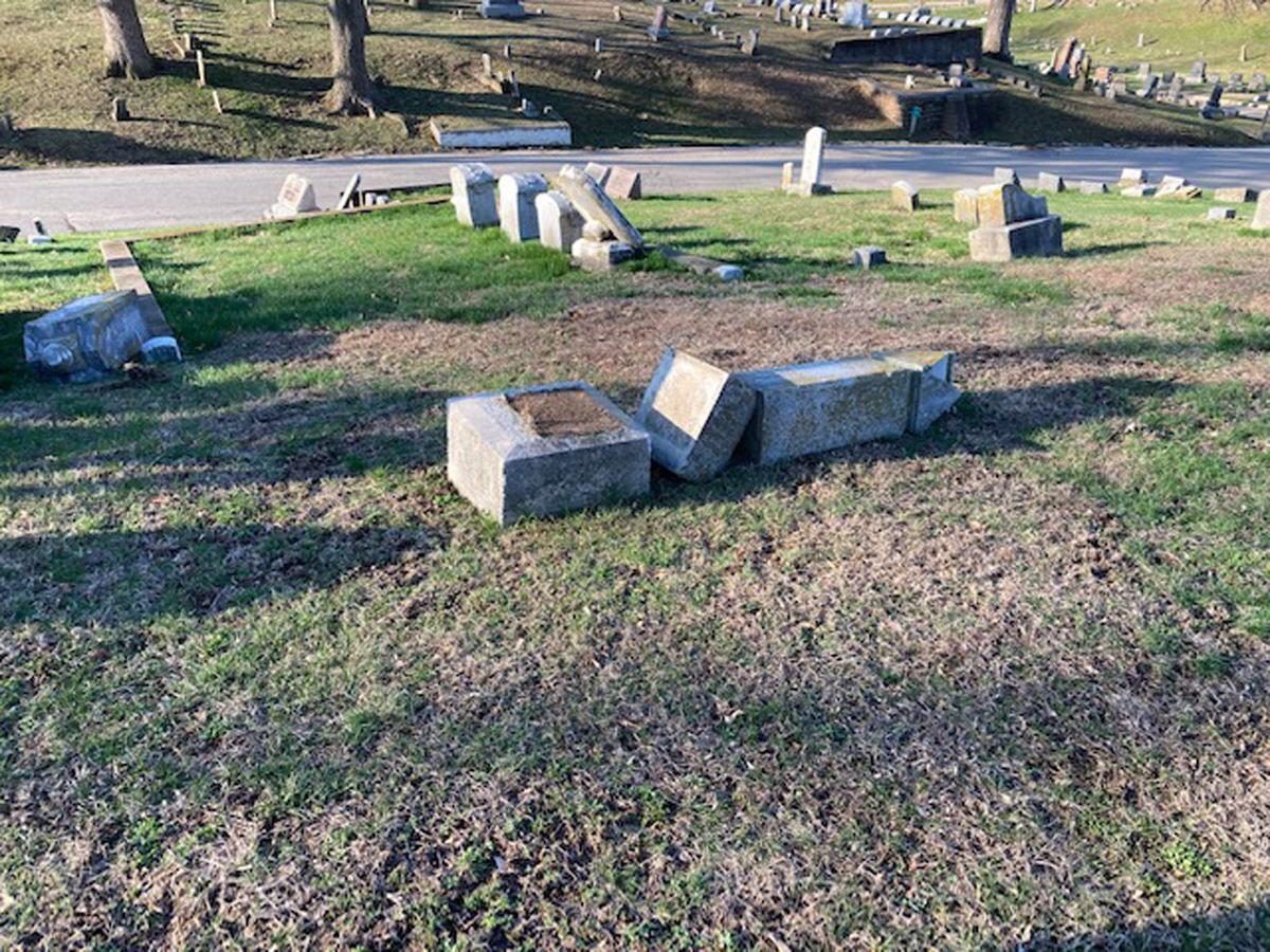 cemetery vandalism 1