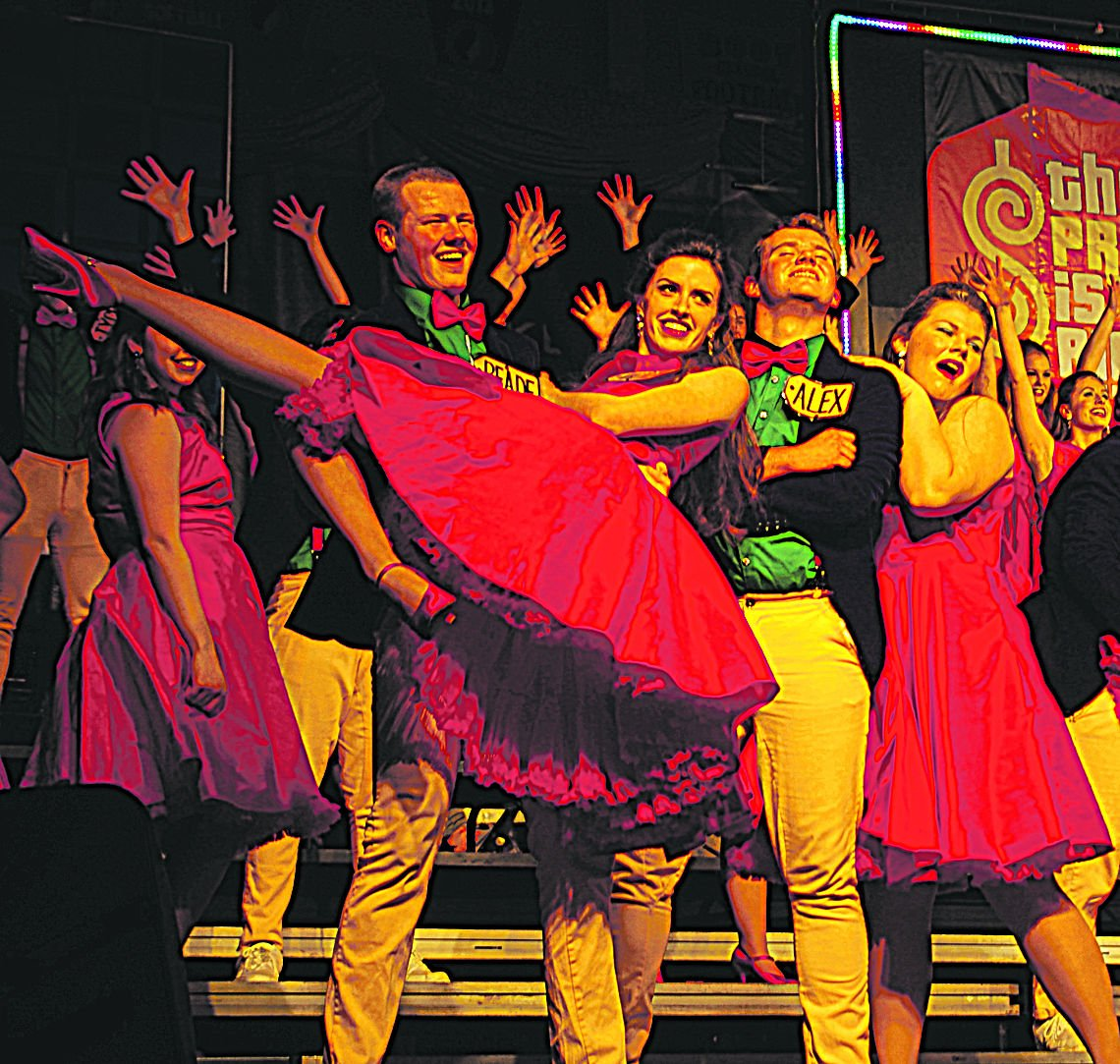 Purple Harmony dancers