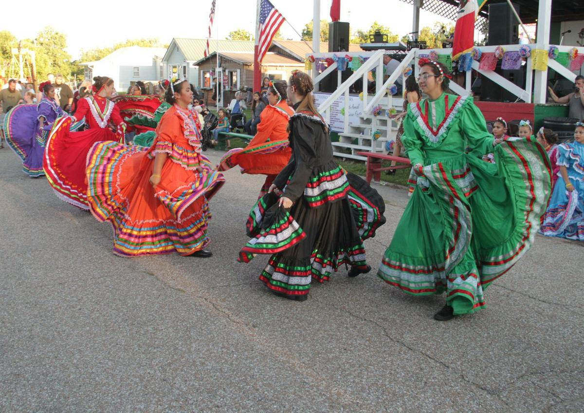 Dance troupe entertains for opening ceremonies