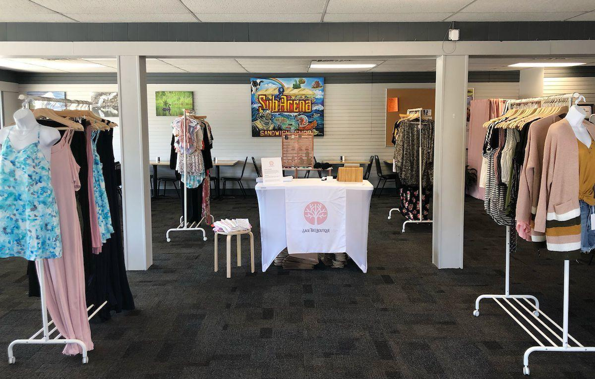 Sage Tree Boutique pops up from time to time