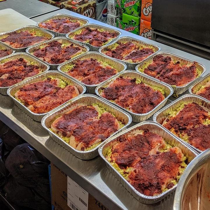 Red Front lasagna