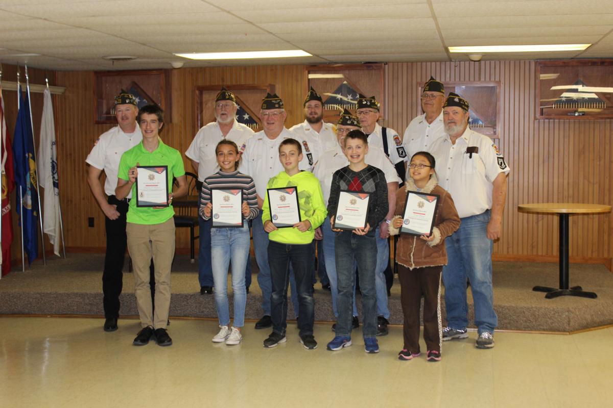 VFW essay winners