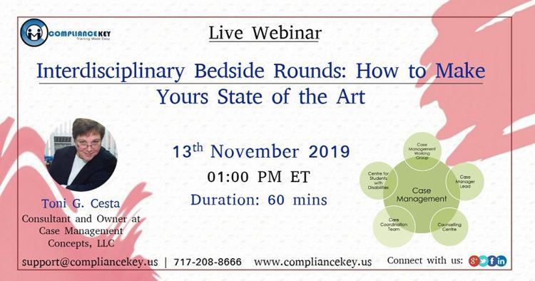 Interdisciplinary Bedside Rounds: How to Make Yours State of the Art