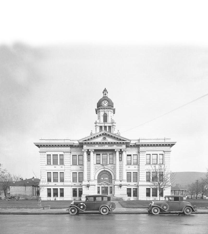 Missoula County  Courthouse circa 1930's