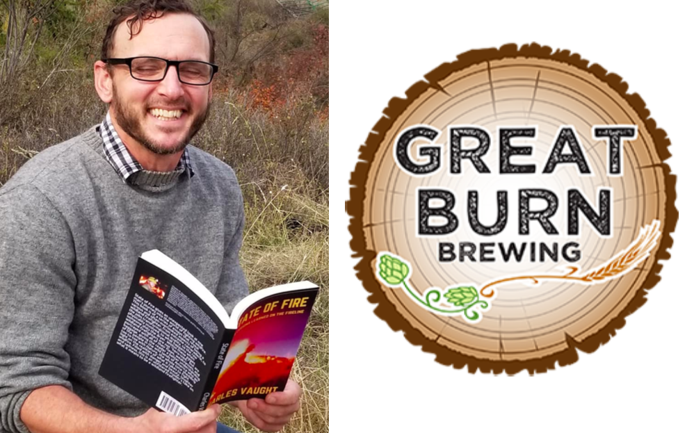 Author Charles Vaught Book Reading and Signing at Great Burn Brewing!