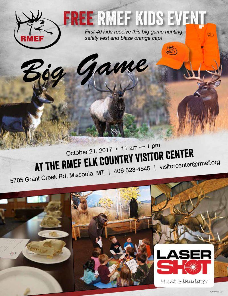 rocky mountain elk foundation kids event free missoula com