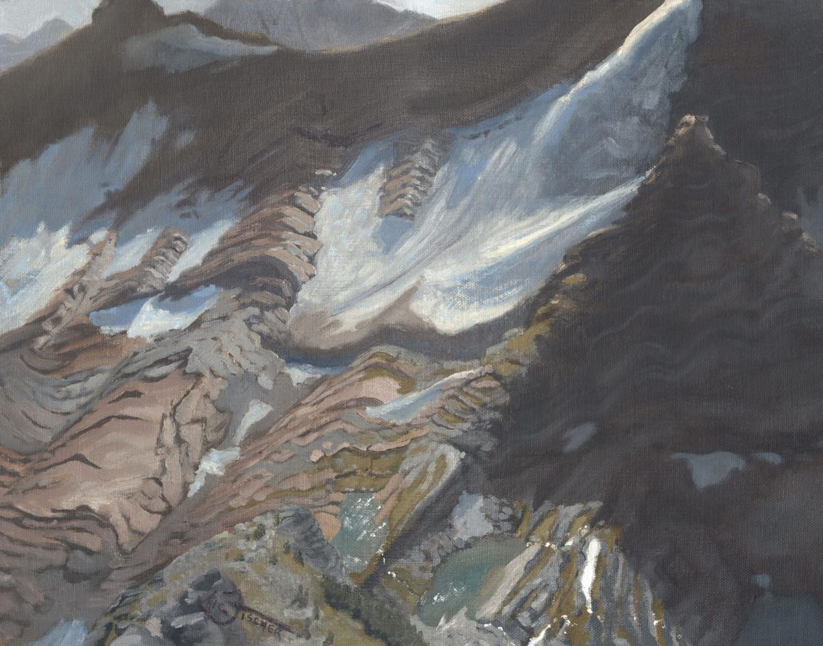 Nic Fischer's painting from the top of Edwards