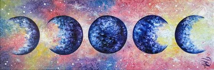Lunar Love Galaxy