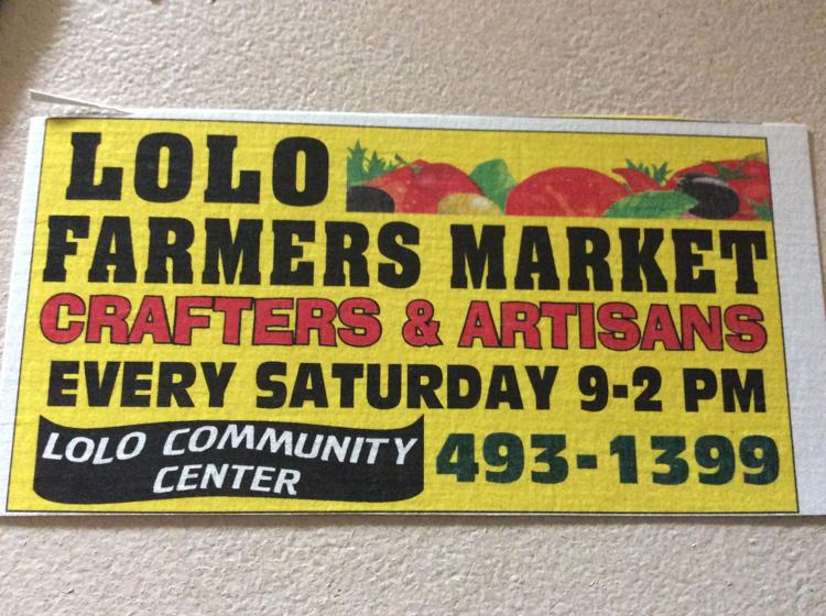 Lolo Farmers / Craft Market