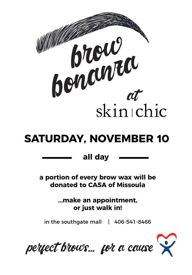 Brow Bonanza for CASA | Events | missoula com