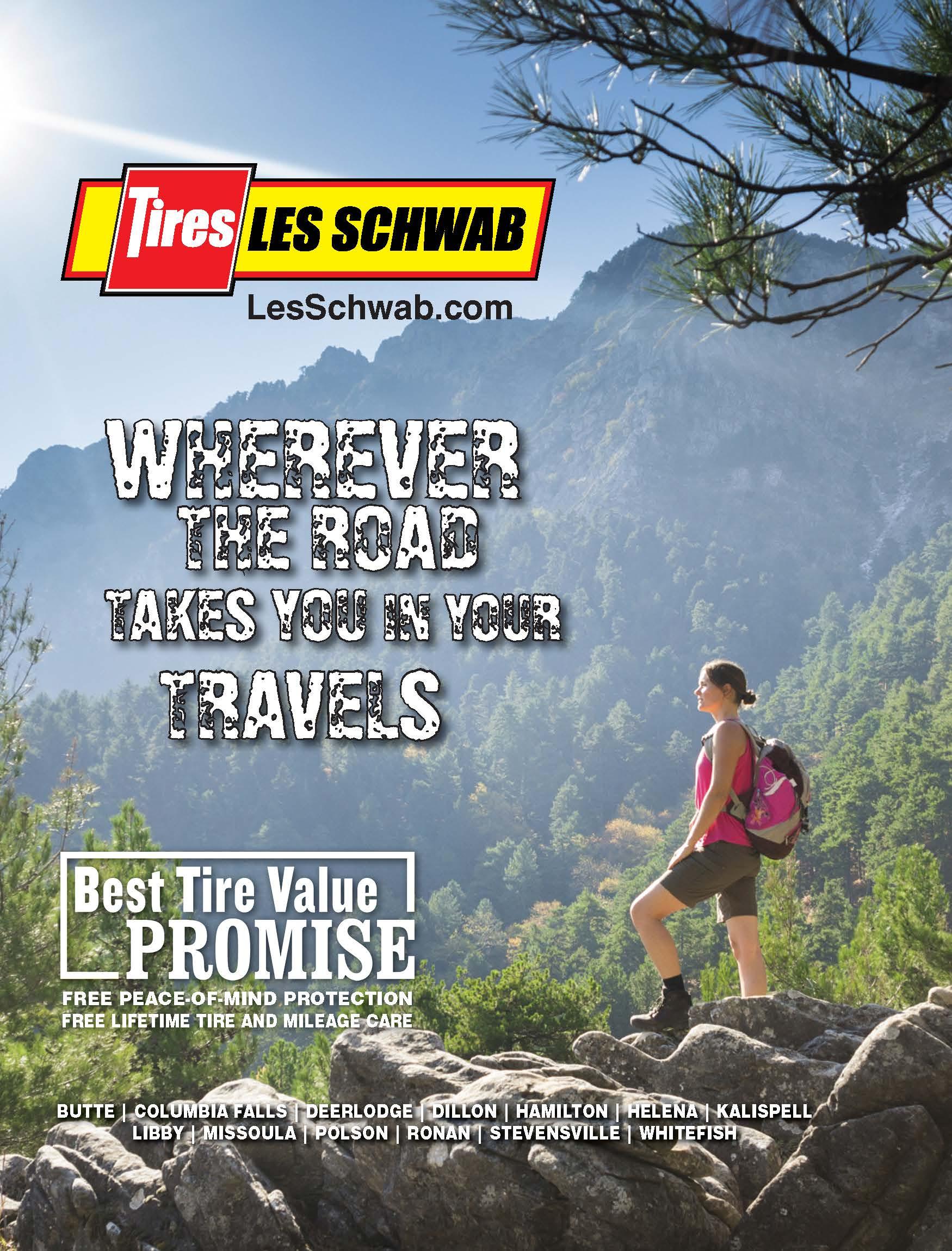 Wherever the road takes you