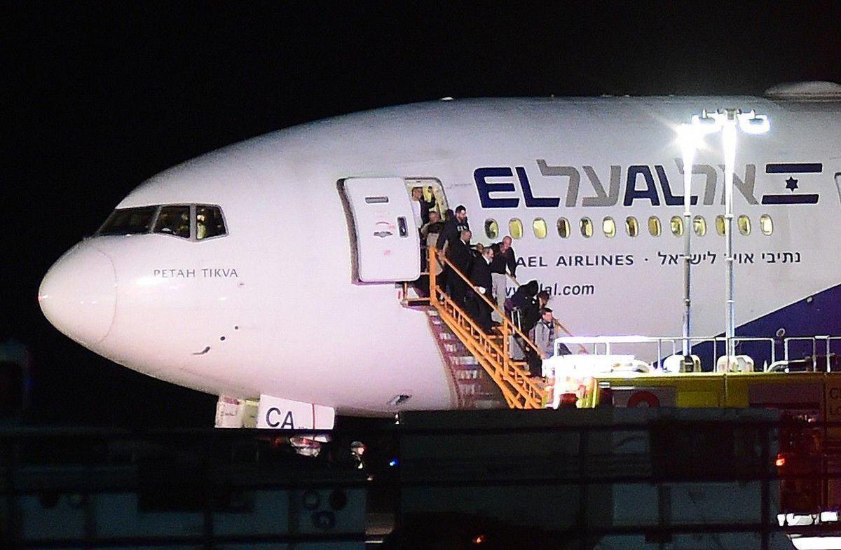 An Israeli El Al airliner