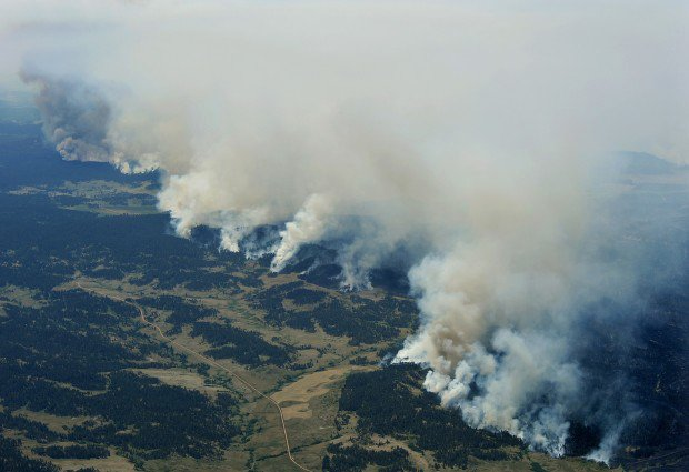 Ash Creek fire 0702
