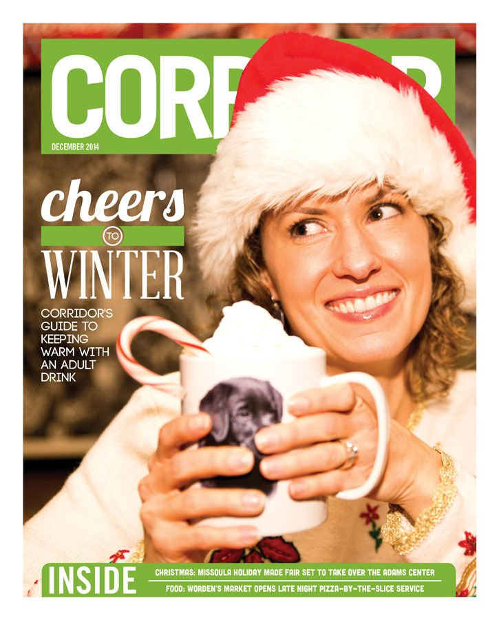 cheers to winter - dec cover