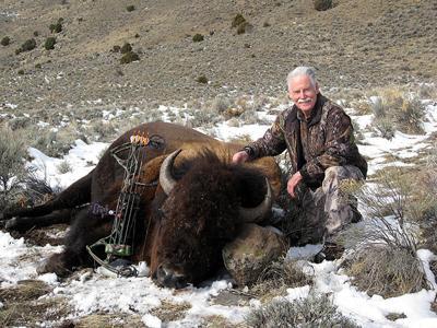 Bartkowski, bison killed with bow.