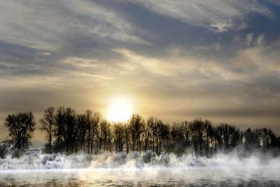 Fog on the Clark Fork