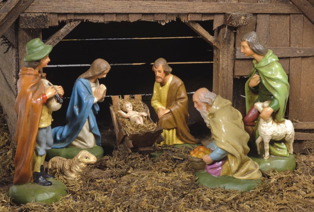 nativity scene stockimage