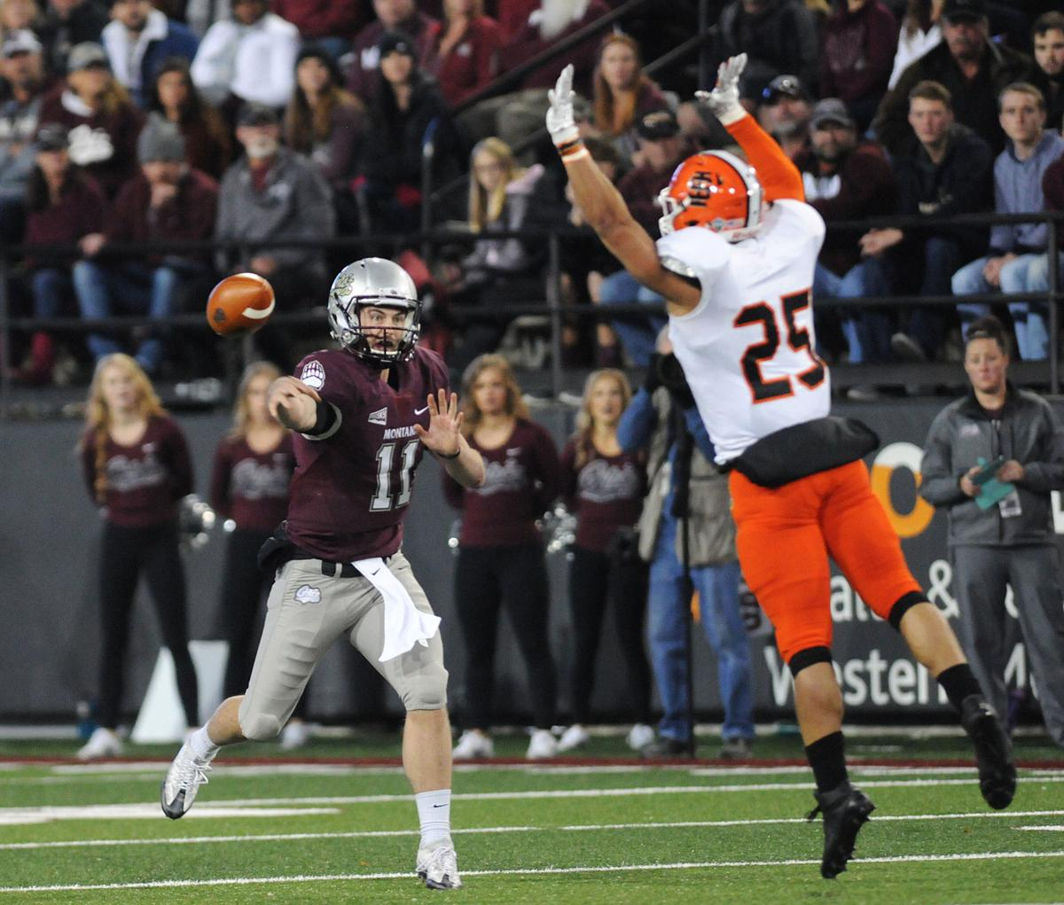 Griz Football Chalich Tosses Record 7 Tds In Griz 62 44 Win Over