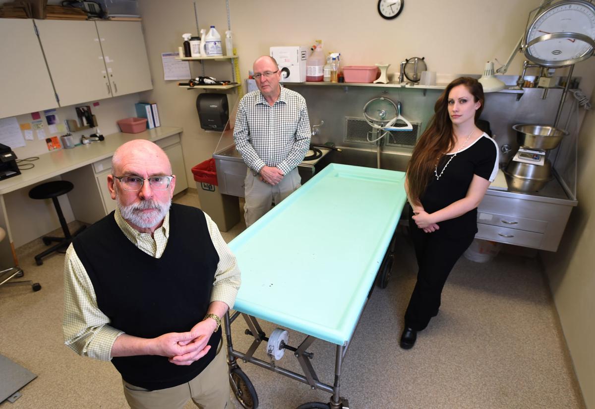 State and county death investigators