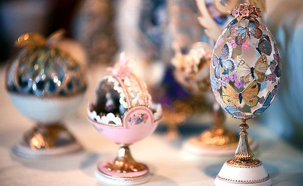 Kalispell Artist Shares Her Lifetime Of Decorated Eggs Created For