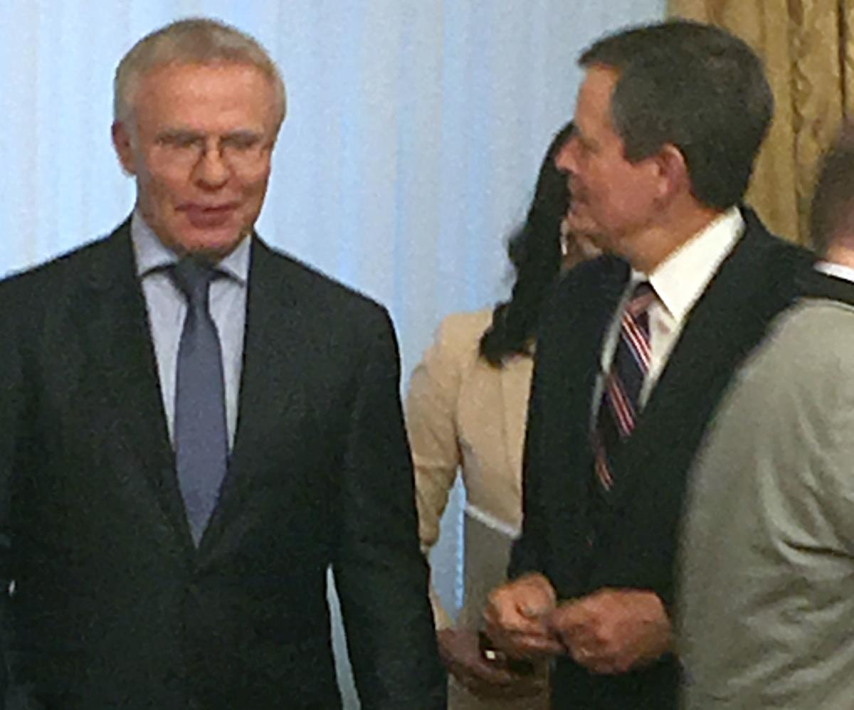 Daines and Fetisov