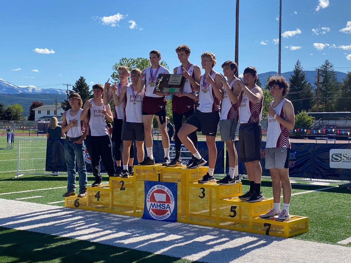 Fort Benton, boys team champion
